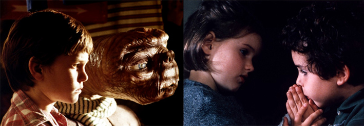 E.T. (Steven Spielberg) / Ponette (Jacques Doillon)