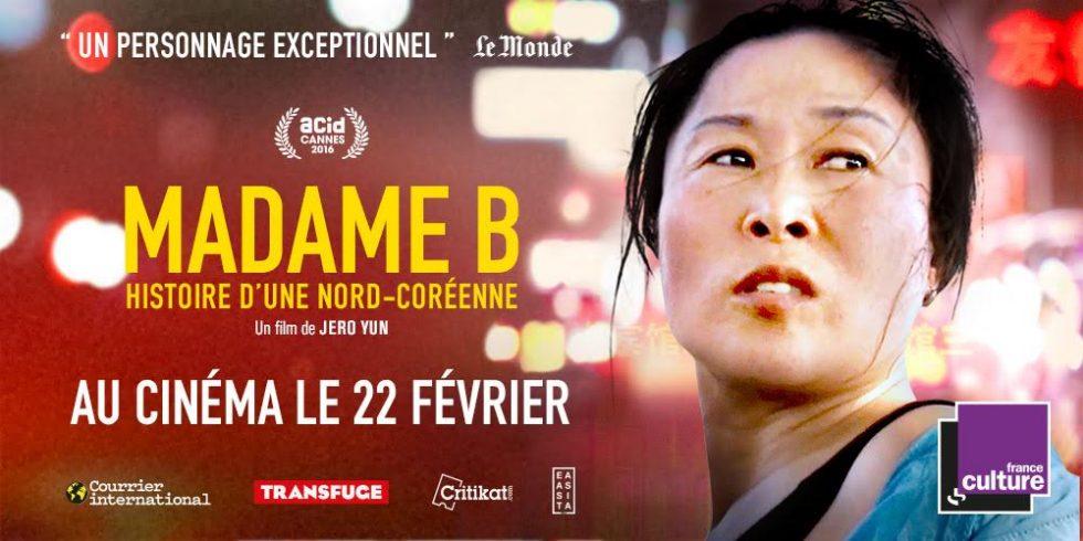 Concours «Madame B. Histoire d'une Nord-Coréenne»