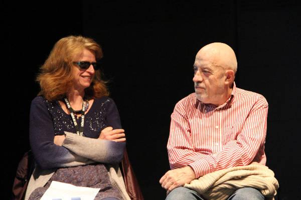 Claire Simon et Luc Moullet