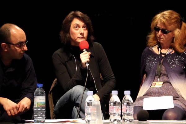 Mehran Tamadon, Mariana Otero et Claire Simon