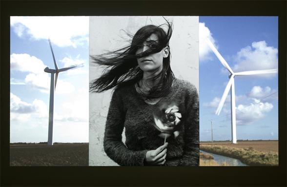 Agnès Varda : <i>Marie dans le vent</i>, présenté dans l'exposition <i>Triptyques Atypiques</i>