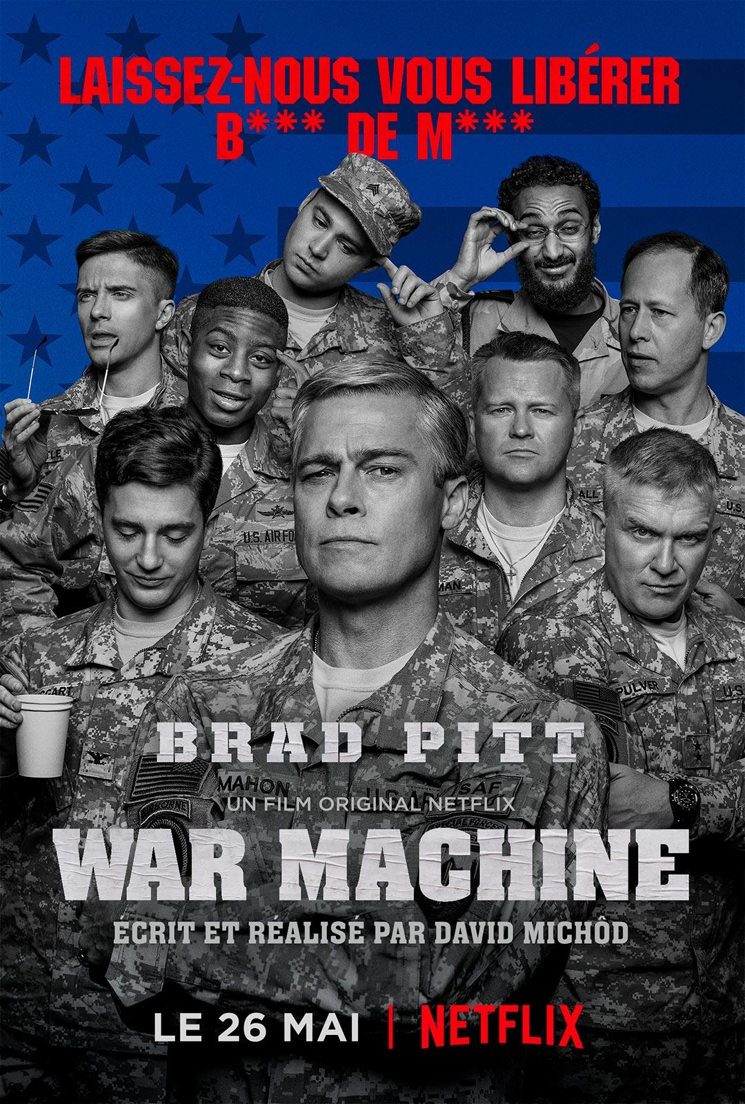Critique : War Machine, de David Michôd (Netflix) - Critikat