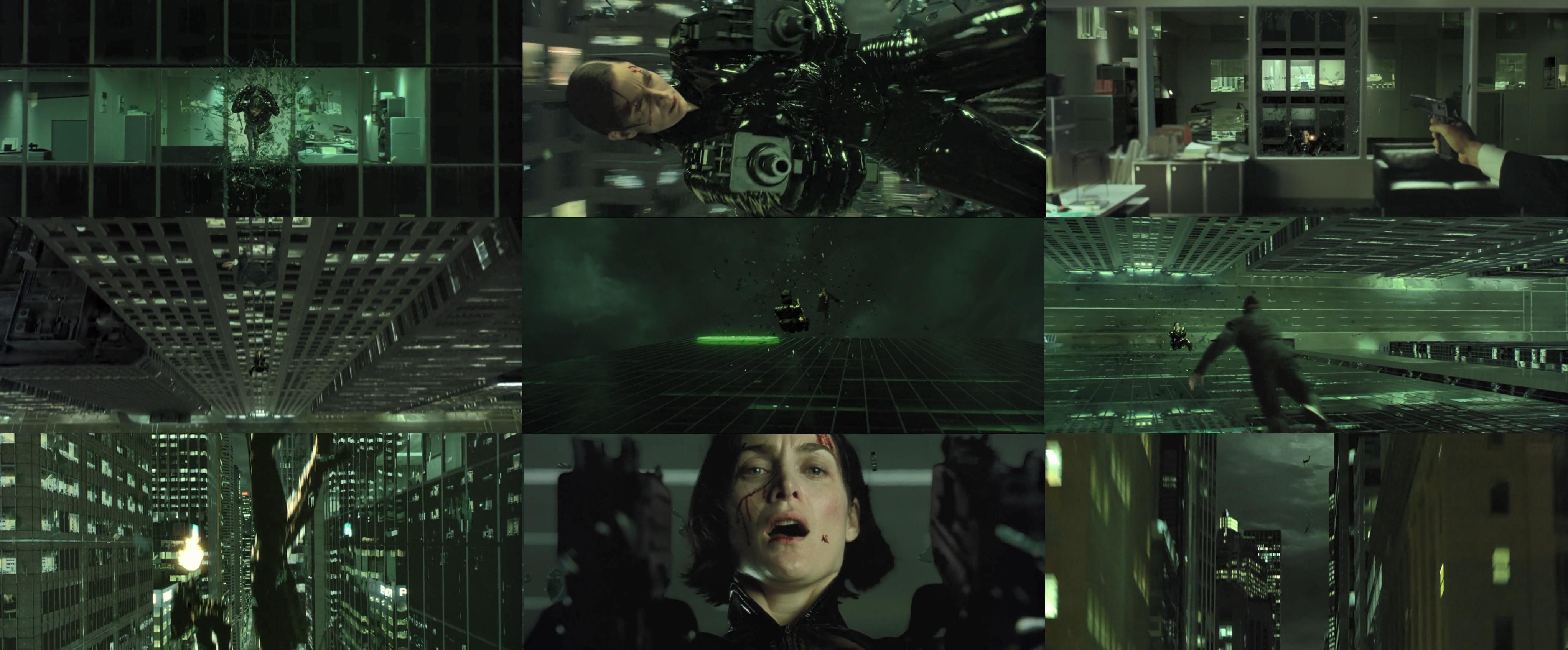 Cinéma - Trilogie Matrix « That's impossible » un policier témoin