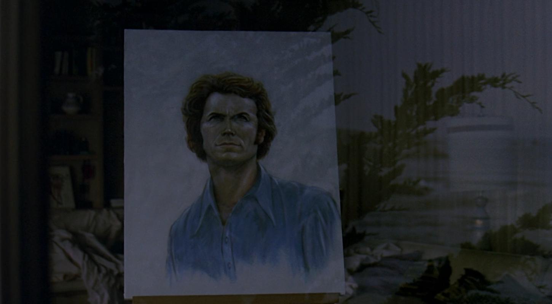 Clint et son portrait