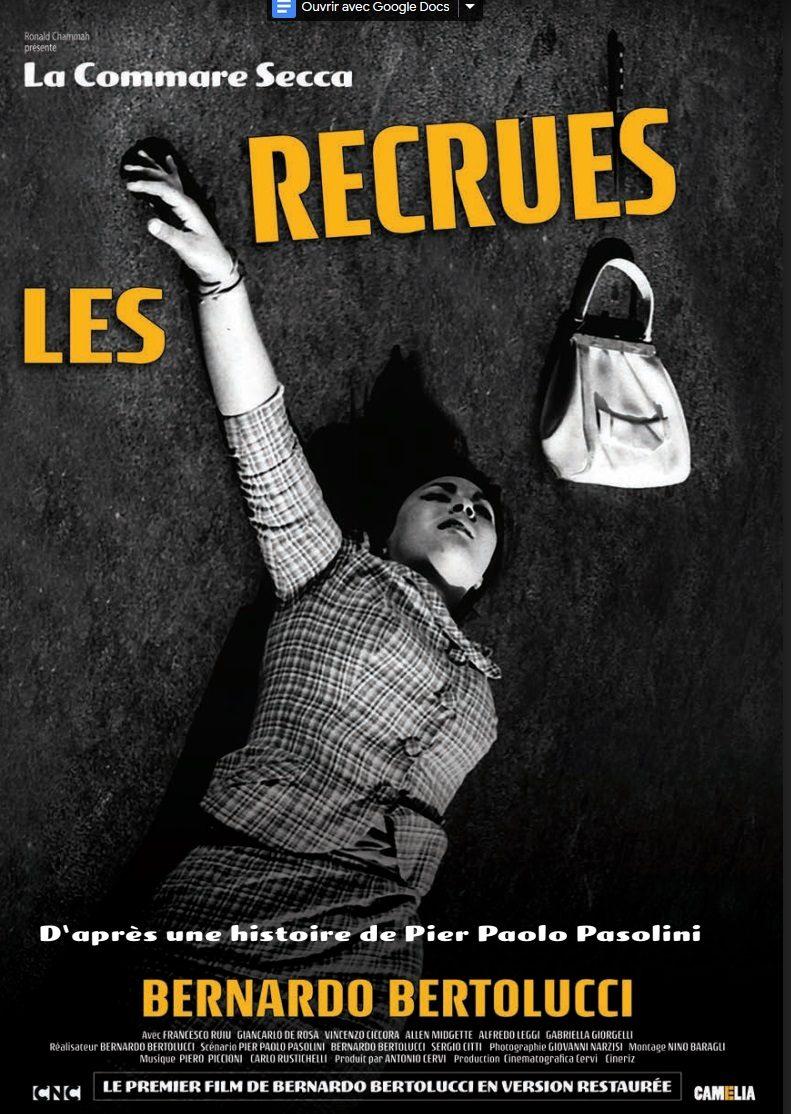 La Commare secca - Les Recrues - Les films du camélia