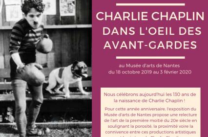 Exposition «Charlie Chaplin dans l'œil des avant-gardes»
