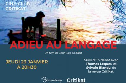 Ciné-club Critikat : «Adieu au langage» de Jean-Luc Godard