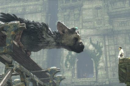 Dans les ruines de The Last Guardian