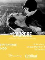 Ciné-club Critikat : « L'Aurore » de Friedrich W. Murnau