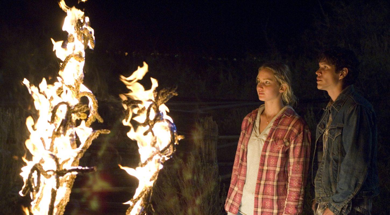Loin de la terre brûlée