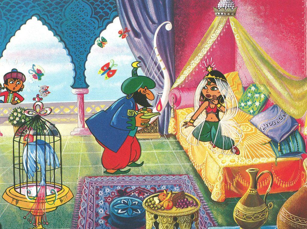 Critique Aladin Et La Lampe Merveilleuse De Jean Image Critikat