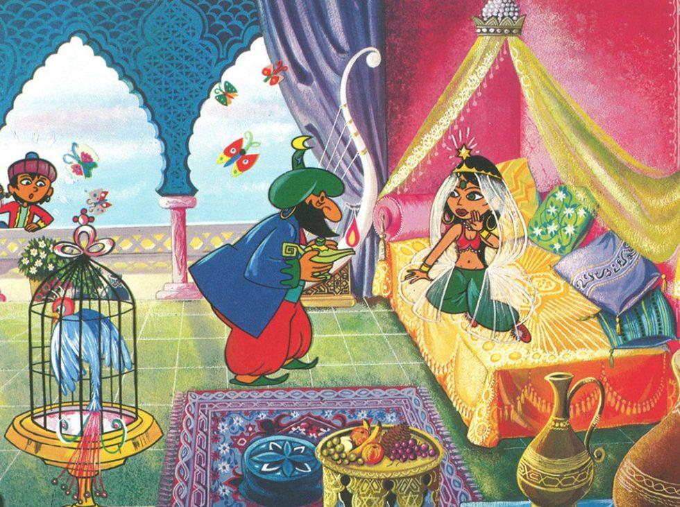 Critique   Aladin Et La Lampe Merveilleuse  De Jean Image