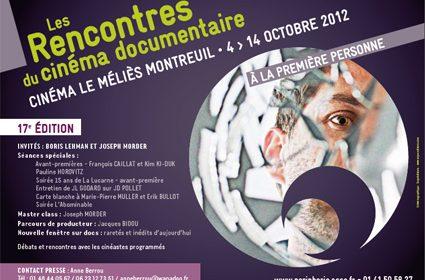 Les Rencontres du cinéma documentaire (4-12 octobre 2012)