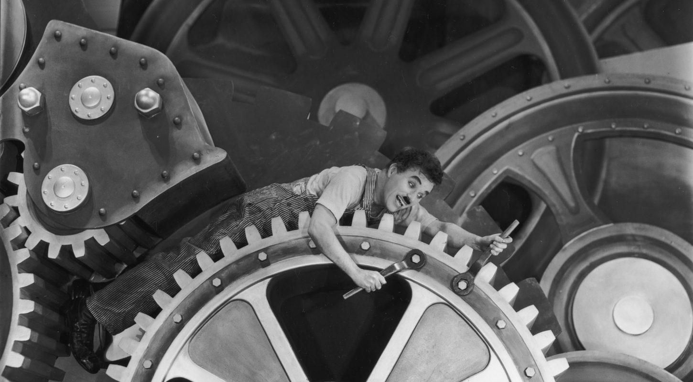 30291658ce2245 Critique   Les Temps modernes, de Charles Chaplin - critikat.com ...