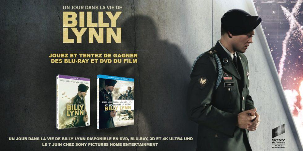 Concours «Un jour dans la vie de Billy Lynn»